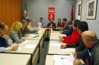 El PSOE provincial de Cáceres