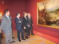 La Lonja acoge una selección del Prado del paisaje nórdico, en el que la pintura es entendida como decoración