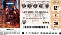 El 5 es la terminación más premiada por el 'Gordo' de la Lotería de Navidad y el 1 la que menos