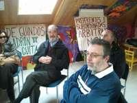 Afectados por las preferentes mantienen la huelga de hambre por turnos en Ferrol
