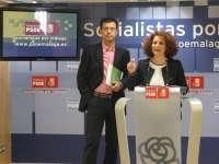El PSOE inicia seis campañas de movilización social contra los recortes del PP en la provincia de Málaga
