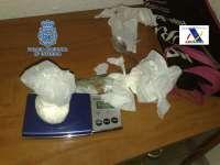 Detenidos cuatro presuntos integrantes de una red de tráfico de cocaína que operaba en la provincia