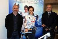 La ciclista de Mollerussa (Lleida) Mercè Petit participa en cinco carreras en los cinco continentes