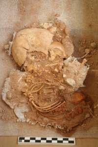 Hallado un feto de la época romana en una excavación arqueológica en La Vila Joiosa