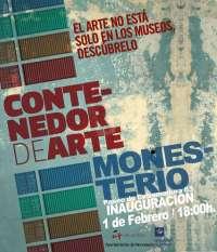 Monesterio (Badajoz) ha reconvertido la antigua sede de Cruz Roja en un 'Contenedor de Arte'
