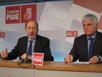 Pérez (PSOE) dice que la moción de censura de San Juan de la Rambla (Tenerife) no tendrá