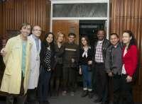 Siete estudiantes extranjeros de enfermería avanzada realizan sus prácticas en el HUCA