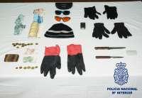 Detenido un hombre de 29 años por robar con intimidación a once mujeres en Toledo capital