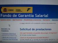 El gasto del Fogasa se sitúo en 22,4 millones en 2012 en Extremadura