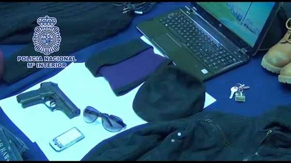 AMP.Detenido en Burgos el presunto autor de 20 atracos a bancos y farmacias