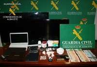Detenidas tres personas que se dedicaban al tráfico de drogas en Albacete e incautados 418 gramos de cocaína