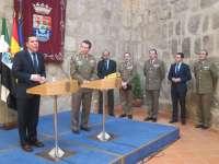 El Gobierno extremeño y la Unidad Militar de Emergencias colaborarán en sus actuaciones para dar una