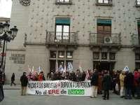 El 90% de la plantilla de Bankia en Segovia apoya los dos paros celebrados contra el ERE