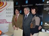 Diputación, Ayuntamiento y empresarios valoran un Fitur