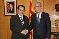 Tarragona2017. El alcalde de Tánger visita Tarragona para interesarse por los Juegos Mediterráneos