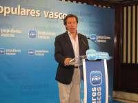 Carlos Floriano se reunirá este miércoles con la dirección del PP vasco