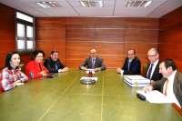 Ferrocarriles muestra a Lago el borrador del protocolo para desarrollar la plataforma logística intermodal en Talavera