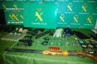 La Guardia Civil desarticula una red que simulaba registros policiales en viviendas para cometer robos