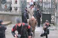 Riopedre, recibido con abucheos a su llegada a la Junta General del Principado