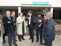 Lambán (PSOE) pide a Rudi que no emule el modelo privatizador de la sanidad de Madrid con el nuevo hospital de Alcañiz
