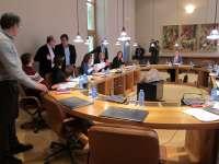 (AV) El BNG promueve una declaración del Parlamento para condenar la actuación policial en el desahucio de A Coruña