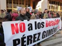 CTA vuelve a convocar desde este miércoles otra huelga de tres días en Laboratorios Pérez Giménez por impagos