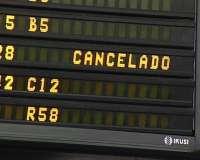 Cancelados 25 vuelos con origen o llegada a los aeropuertos vascos en la quinta jornada de la huelga de Iberia