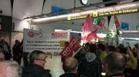 Un total de 18 vuelos cancelados en Andalucía durante la quinta jornada de huelga de los trabajadores de Iberia