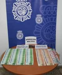 Detenidas dos personas en Tenerife con 13.100 euros en billetes falsos