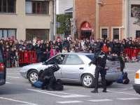 La Policía Foral abre este domingo las puertas de su sede central en Pamplona para mostrar el trabajo de sus unidades
