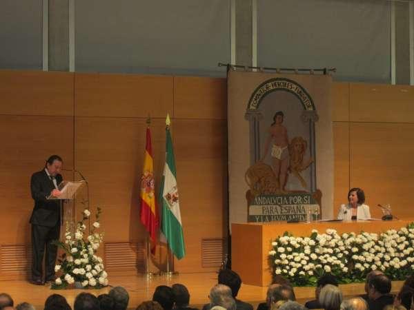 De Llera defiende un Pacto por Andalucía que permita