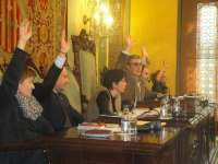 Ros y 10 concejales del PSC en Lleida votan con CiU la declaración soberanista del Parlament