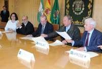 Diputación suscribe acuerdos con asociaciones que trabajan con personas discapacitadas y con alzheimer