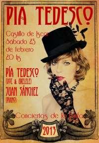 Pía Tedesco regresa este sábado al Castillo de Íscar de la mano de 'Los Conciertos de la Estufa'