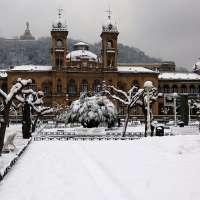 San Sebastián preparada ante la posibilidad de que la nieve cuaje a nivel de mar este fin de semana