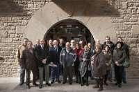 Zarraluqui visita la nueva sede de la Oficina de Rehabilitación de Viviendas y Edificios de Tafalla