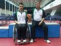 Deportistas extremeños consiguen ocho medallas en los campeonatos de tenis de mesa para personas con discapacidad física