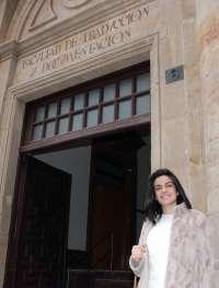 Una estudiante salmantina asesorará a la Embajada de Estados Unidos en España sobre temas de juventud