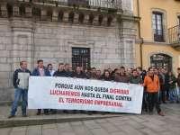 Interrupciones, gritos y mineros en defensa del sector durante el pleno de la moción de censura en Ponferrada