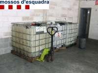 Dos detenidos en Girona por robar tarjetas en camiones para comprar gasolina