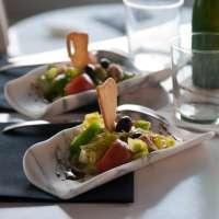 Una empresa diseña vajillas en mármol y piedra natural usadas por chefs para la presentación de sus platos