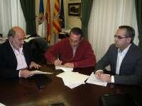 El Ayuntamiento de Calatayud renueva su compromiso con la Junta Mayor de Semana Santa