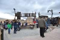 Dinópolis recibe más de 18.000 visitantes, logrando su récord en estas fechas