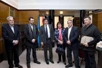 ACOM agradece el compromiso de Javier Fernández en la defensa del futuro del carbón y de las comarcas mineras