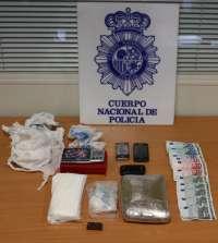 La Policía Nacional de Valladolid detiene a dos hombres y se incauta de 1.900 gramos de speed