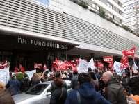 Trabajadores de NH afectados por el ERE se concentrarán este martes en los hoteles de la compañía
