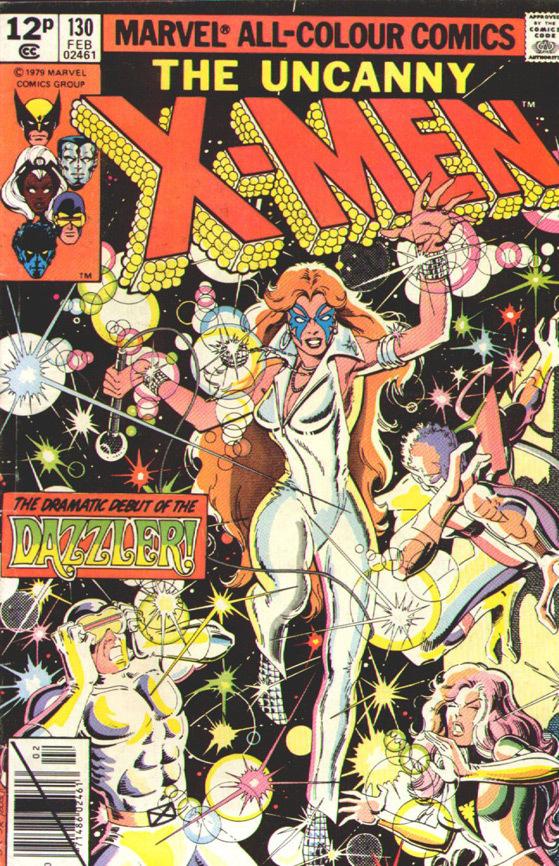 Primera portada de Dazzler en la serie 'X-Men'.