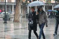 El mes de marzo de 2013 fue uno de los más lluviosos de los últimos 50 años en Santiago de Compostela