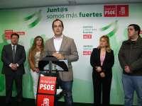 PSOE critica el despido