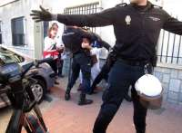 Tres detenidos en una concentración de la Plataforma Pro- Soterramiento en Murcia